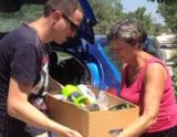Доставка помощи пострадавшим от наводнения в Крымске